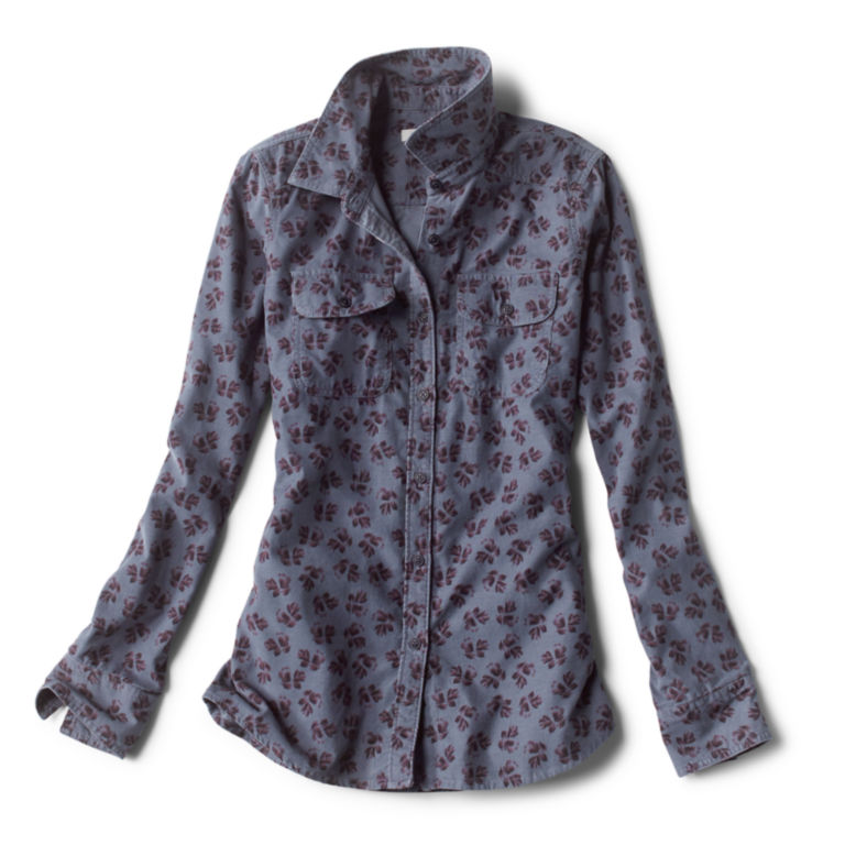 Washed Printed Cord Shirt -  image number 4