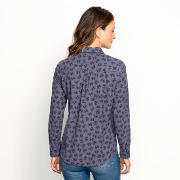 Washed Printed Cord Shirt -  image number 2