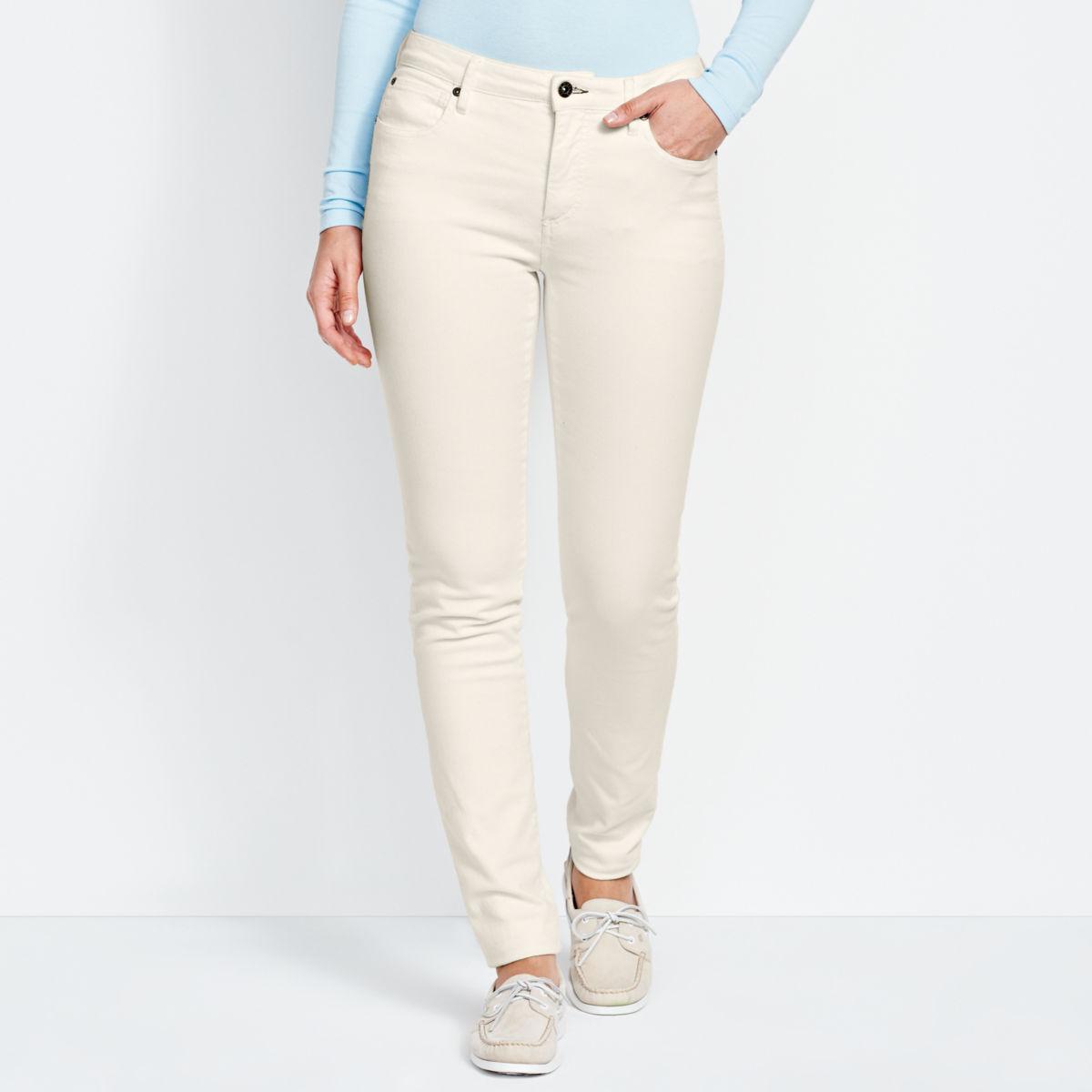 1856 Stretch Denim Skinny Jeans - WHITEimage number 0
