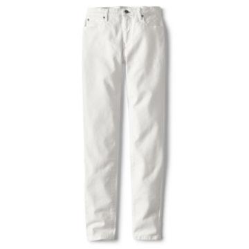 1856 Stretch Denim Skinny Jeans - WHITE image number 3