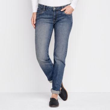 1856 Stretch Denim Boyfriend Jeans -
