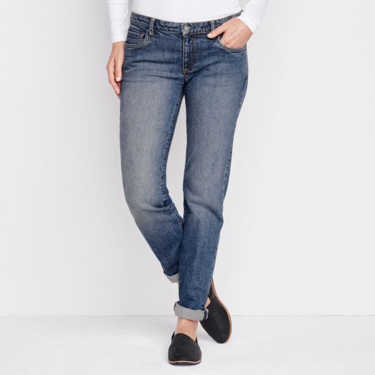 1856 Stretch Denim Boyfriend Jeans -  image number 0