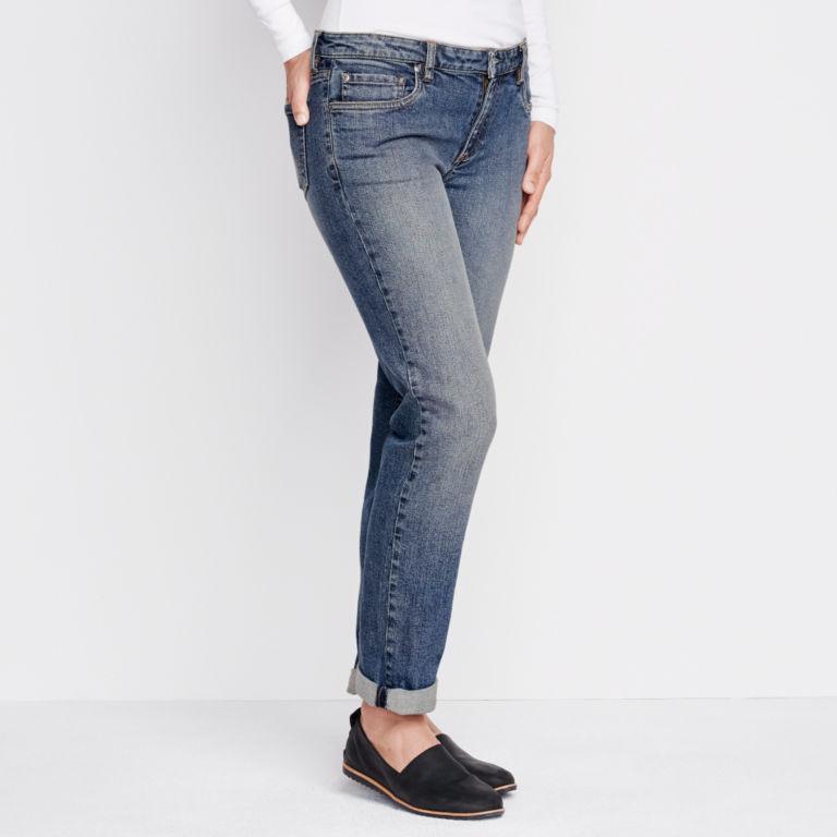 1856 Stretch Denim Boyfriend Jeans -  image number 1