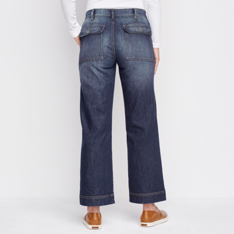 Orvis Wide Leg Cropped Jean -  image number 2