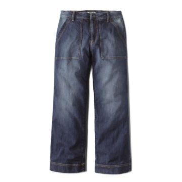 Orvis Wide Leg Cropped Jean -  image number 3