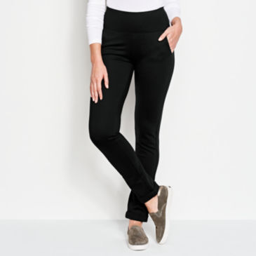 Ponte Slim Straight Leg Pants -