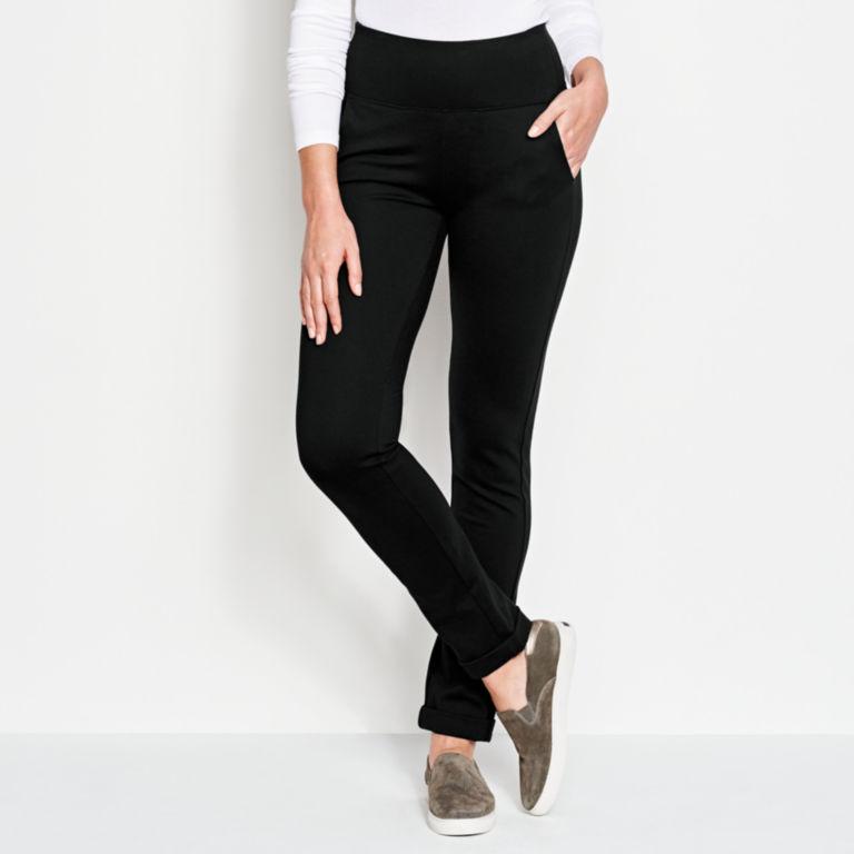 Ponte Slim Straight Leg Pants -  image number 0