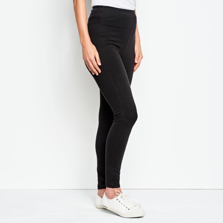 Journey Sport Knit Leggings - BLACK image number 2
