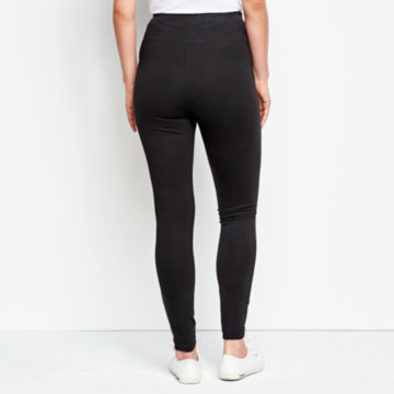 Journey Sport Knit Leggings - BLACK image number 3