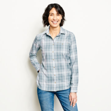 Tech Chambray Plaid Work Shirt -