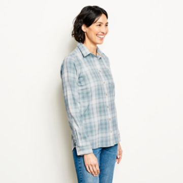 Tech Chambray Plaid Work Shirt -  image number 1