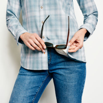 Tech Chambray Plaid Work Shirt -  image number 5