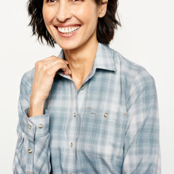 Tech Chambray Plaid Work Shirt -  image number 3