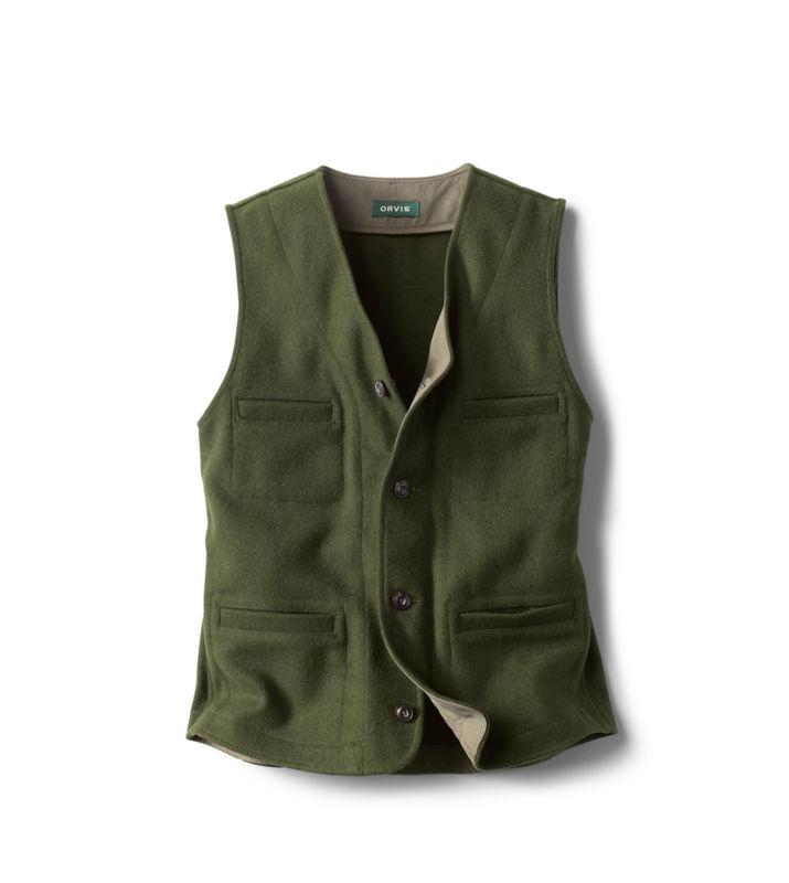 Edwardian Men's Fashion & Clothing 1900-1910s Trapper Peak Wool Vest $149.00 AT vintagedancer.com