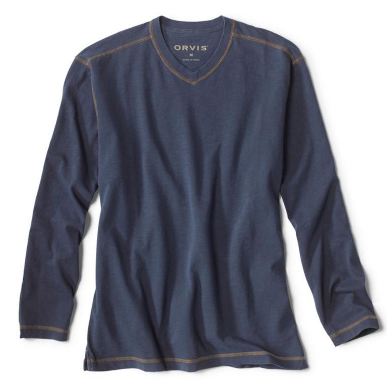 Montana Morning® High V-Neck Long-Sleeved T-Shirt -  image number 0