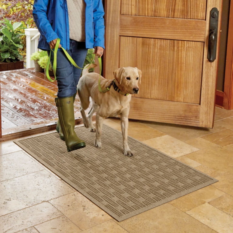 Oxford Weave Recycled Water® Trapper Mat -  image number 0
