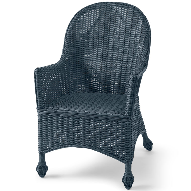 Indoor Wicker Chair and Reading Table -  image number 0