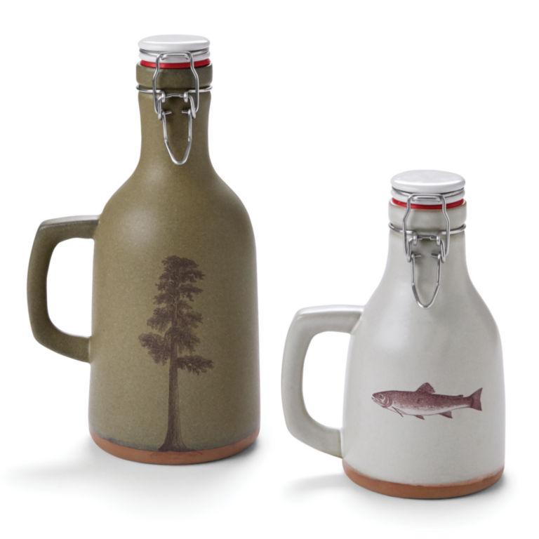Handmade Ceramic Growler and Howler -  image number 0