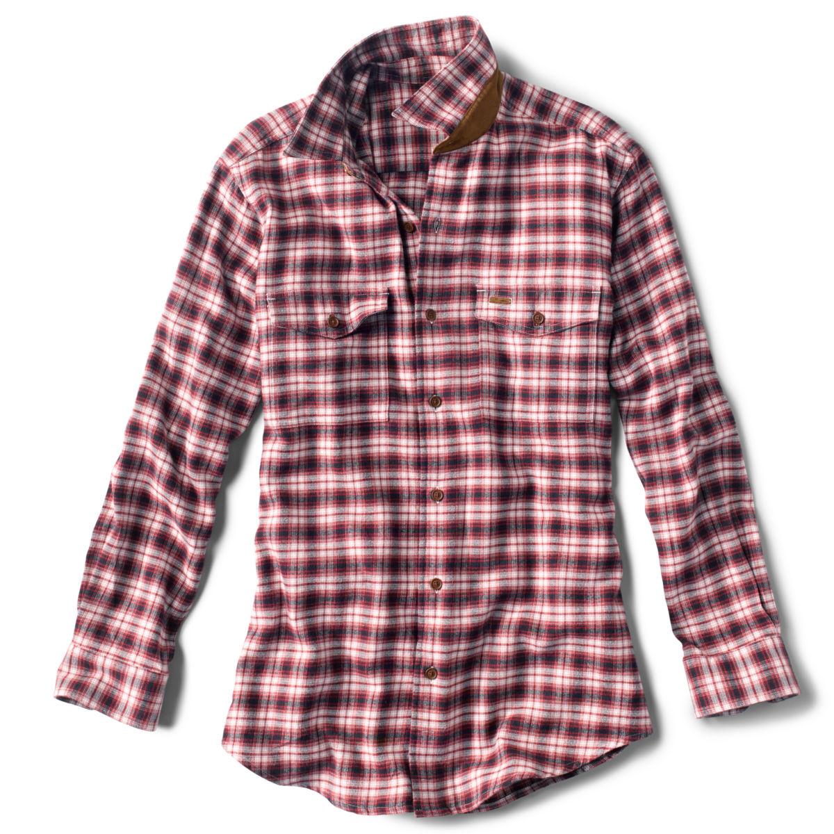 Fairbanks Ombré Plaid Long-Sleeved Shirt - REDimage number 0