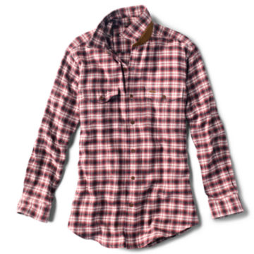 Fairbanks Ombré Plaid Long-Sleeved Shirt - RED image number 0