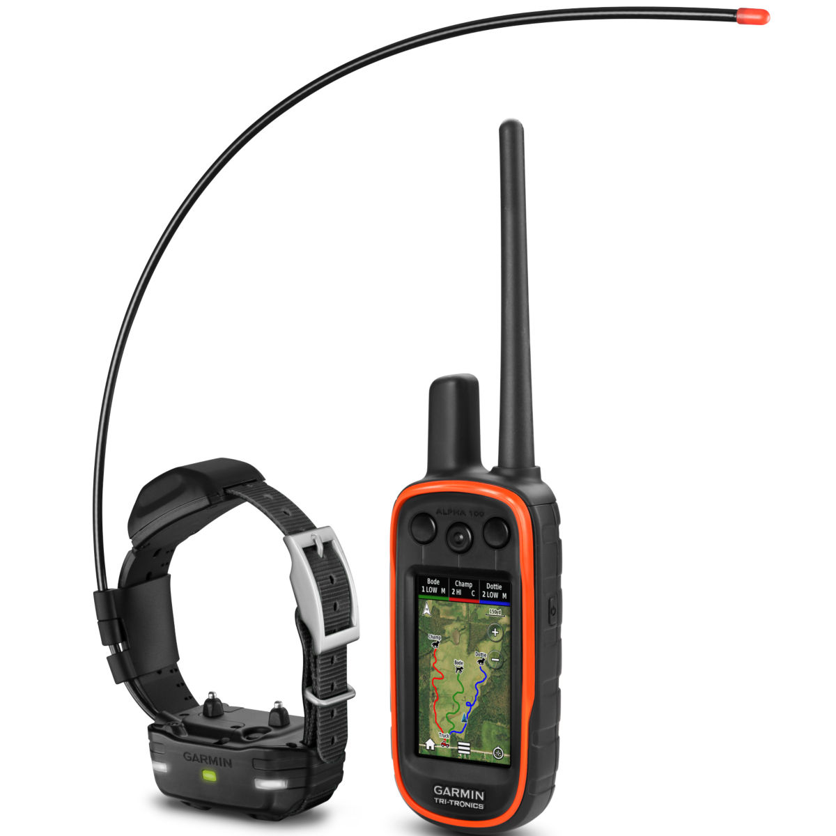 Garmin®  Alpha 100 TT 15 Mini GPS Bundle - image number 0