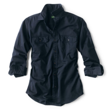 Officer's Twill Long-Sleeved Shirt -