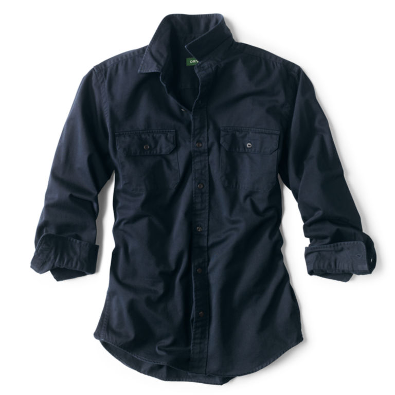Officer's Twill Long-Sleeved Shirt -  image number 0