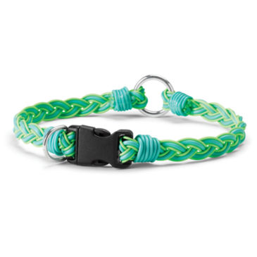 Recycled Fly Line Dog Collar -