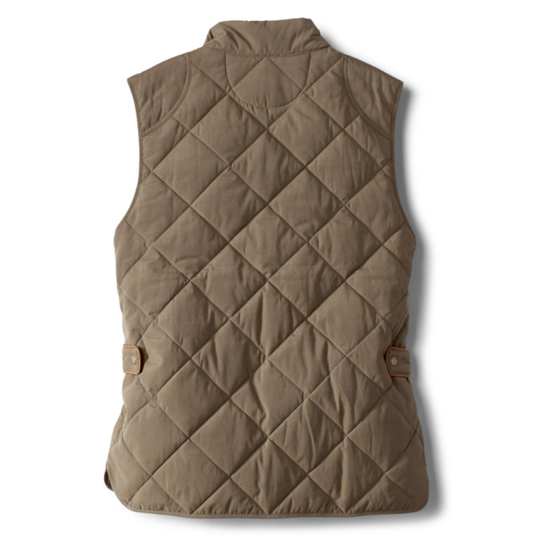 Green Mountain Quilted Vest - OLIVE image number 1