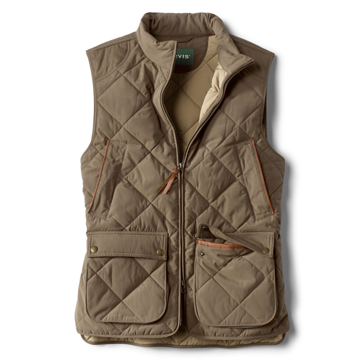 Green Mountain Quilted Vest - OLIVEimage number 0