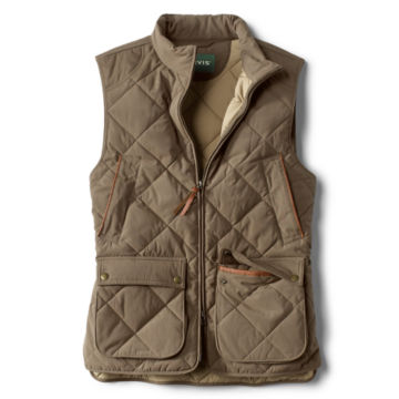 Green Mountain Quilted Vest - OLIVE image number 0