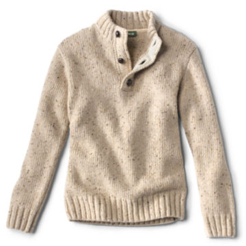 Donegal Button Mock Pullover -  image number 0