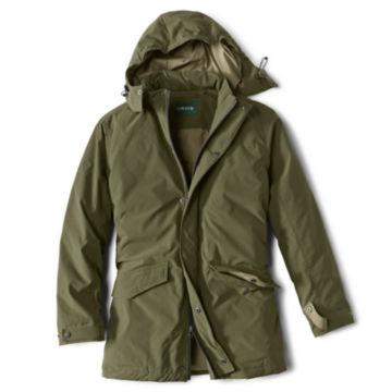 Curious Traveler Overcoat - OLIVE image number 0