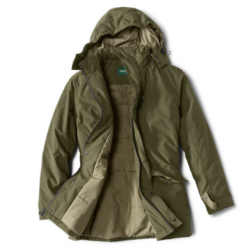 Curious Traveler Overcoat - OLIVE image number 1