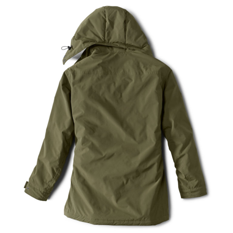 Curious Traveler Overcoat - OLIVE image number 2