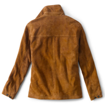 Rough Out Suede Jacket - CAMEL image number 2