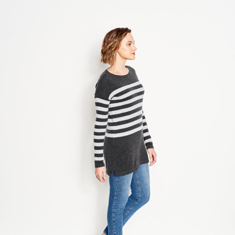 Striped Cashmere Sweater Tunic -  image number 2
