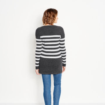 Striped Cashmere Sweater Tunic -  image number 3
