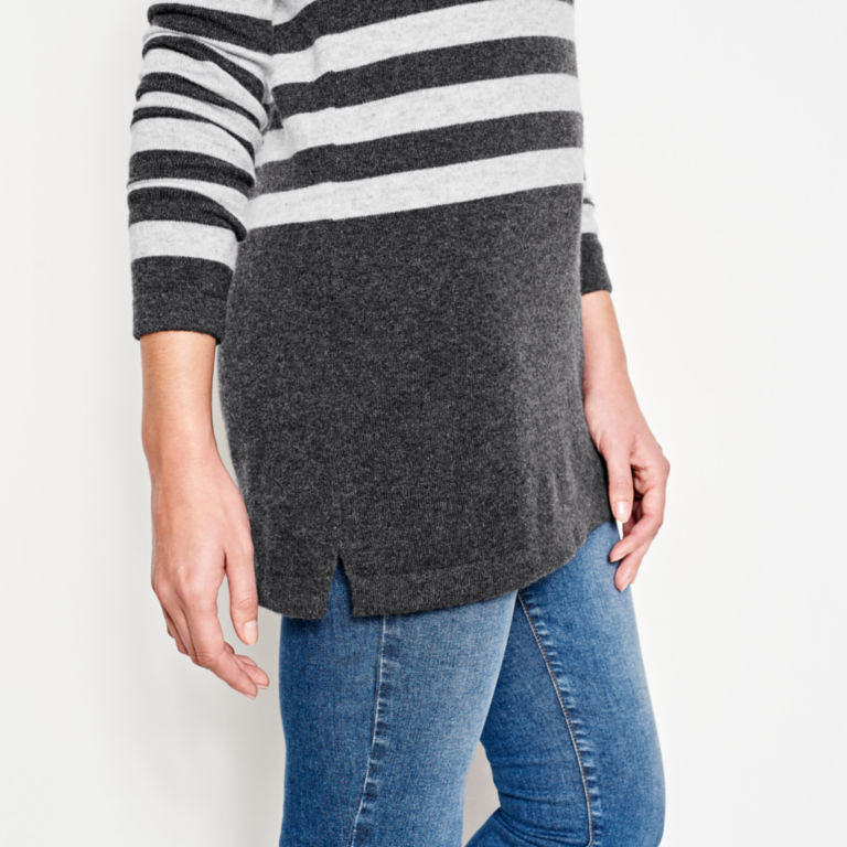 Striped Cashmere Sweater Tunic -  image number 4