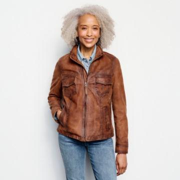 Latitude Leather Jacket - BRONZE image number 1