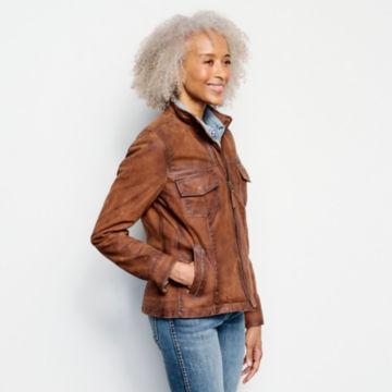 Latitude Leather Jacket - BRONZE image number 2