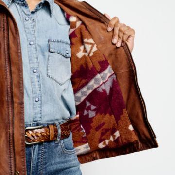 Latitude Leather Jacket - BRONZE image number 5