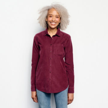 Garment-Dyed Corduroy Shirt -  image number 0