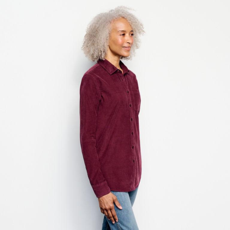 Garment-Dyed Corduroy Shirt -  image number 1