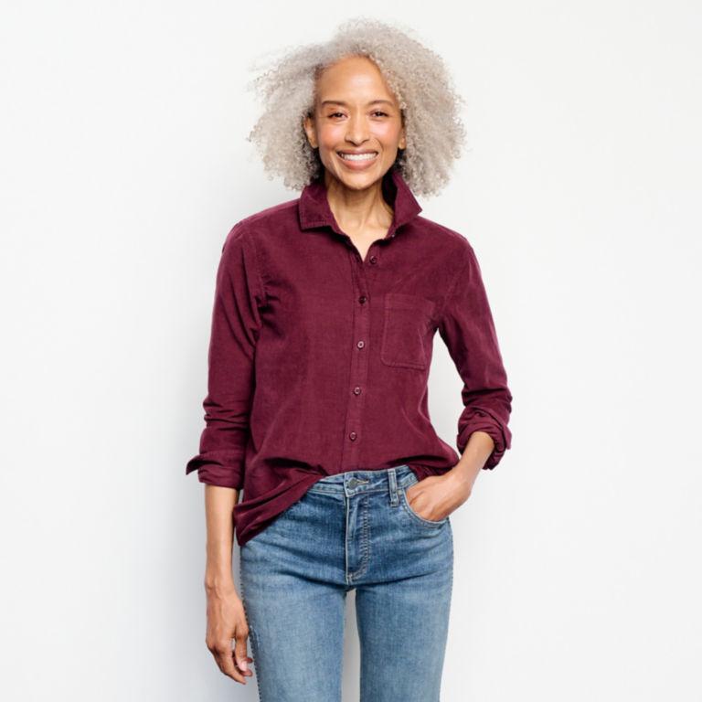 Garment-Dyed Corduroy Shirt -  image number 3
