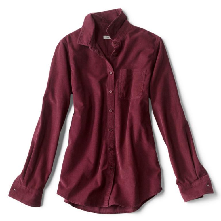 Garment-Dyed Corduroy Shirt -  image number 5