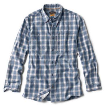 Indigo Tech Plaid Shirt -