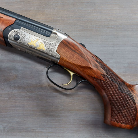 Another view of the Orvis ELOS Over-Under Shotgun