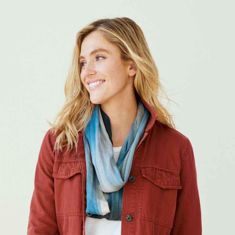Handwoven Bamboo Infinity Scarf -  image number 1