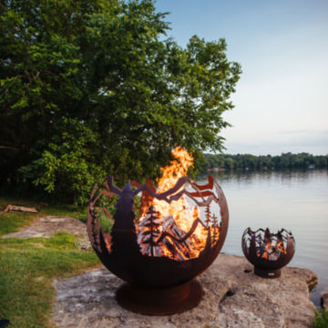 Mountain Forest Fireball - 6' -  image number 1